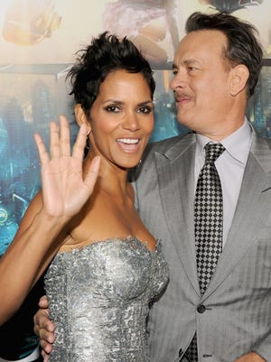 Halle Berry and Tom Hanks at the 'Cloud Atlas premiere Oct, 24 in Hollywood