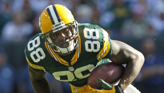 Through Week 7, Packers tight end Jermichael Finley is getting 5.3 targets a game.