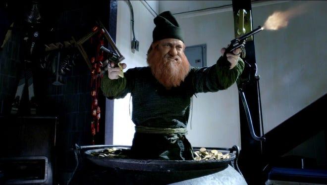 Gerard Butler as a leprechaun in 'Movie 43.'