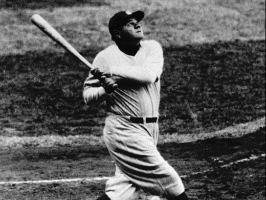 How many strikeouts did babe ruth have-7188