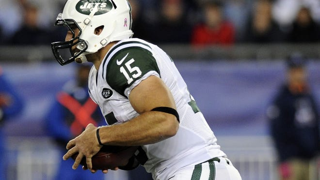Hurricane Sandy's winds could force the Jets to use  Tim Tebow on Sunday against the Miami Dolphins.
