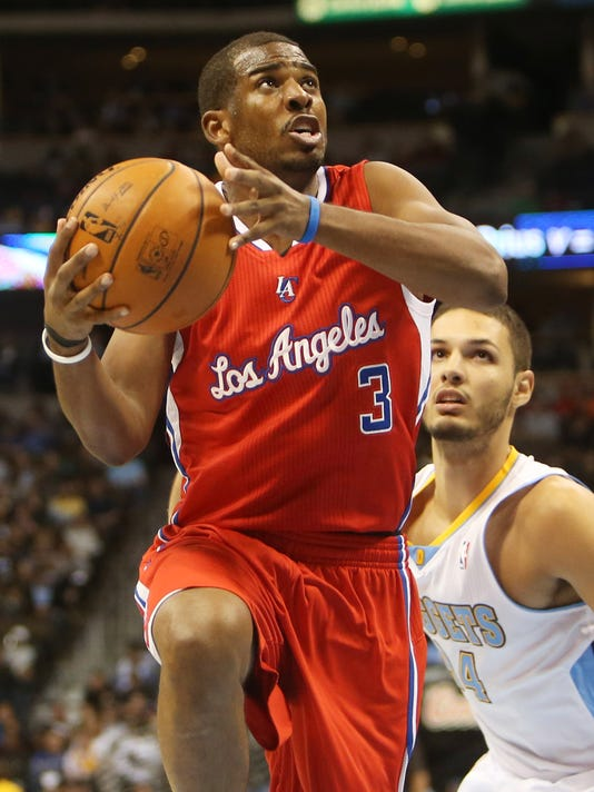 Blake Griffin, Chris Paul lead Clippers past Nuggets