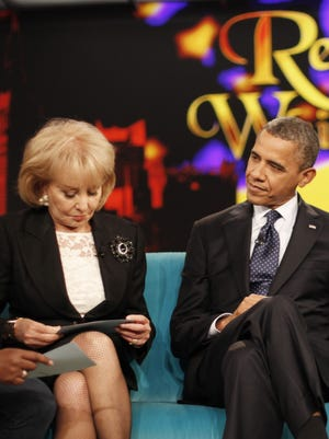 The Obamas sit down with 'The View' ladies last month.