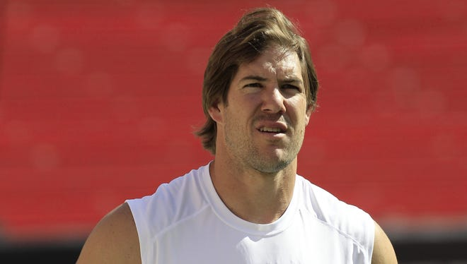 Scott Fujita doesn't know if he'll play in the NFL again.