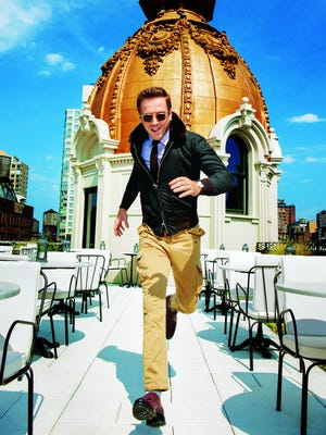 Damian Lewis poses for 'GQ'