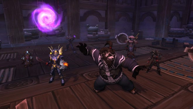 A scene from the 'World of Warcraft' expansion 'Mists of Pandaria.'