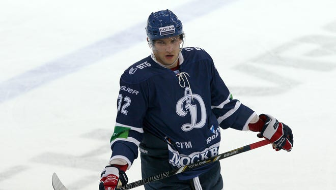 Alex Ovechkin has been playing for Dynamo Moscow of the Kontinental Hockey League during the lockout.