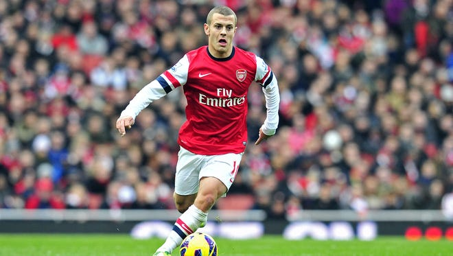 Jack Wilshere, 20, returned to competitive action Saturday, starting and playing 67 minutes in Arsenal's 1-0 win against Queens Park Rangers.