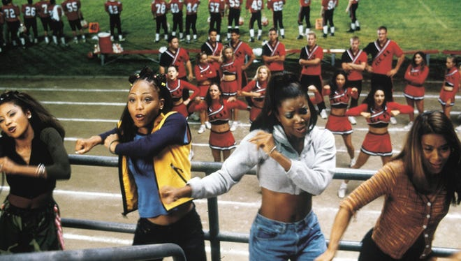 Natina Reed, left, Brandi Williams, Gabrielle Union and Shamri Fears appeared in 'Bring it On.'