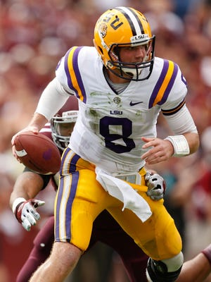 Zach Mettenberger is a disappointing 12th in the SEC in passing efficiency, but LSU might not need an explosive aerial attack to upset Alabama.