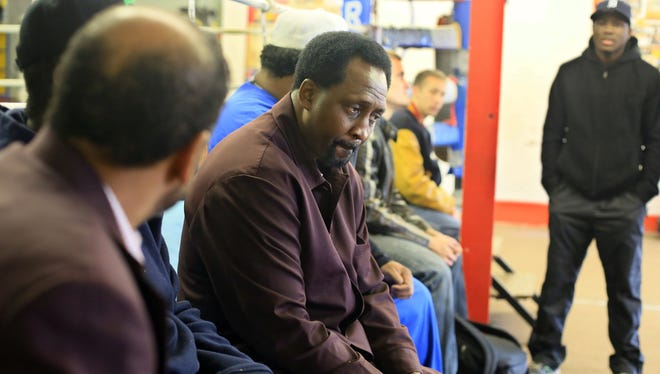 Thomas Hearns joints others in showing his respect for Emanuel Steward this weekend in Detroit. Within 24 hours of Steward's death, his sister order the Kronk Gym sign to be taken down.