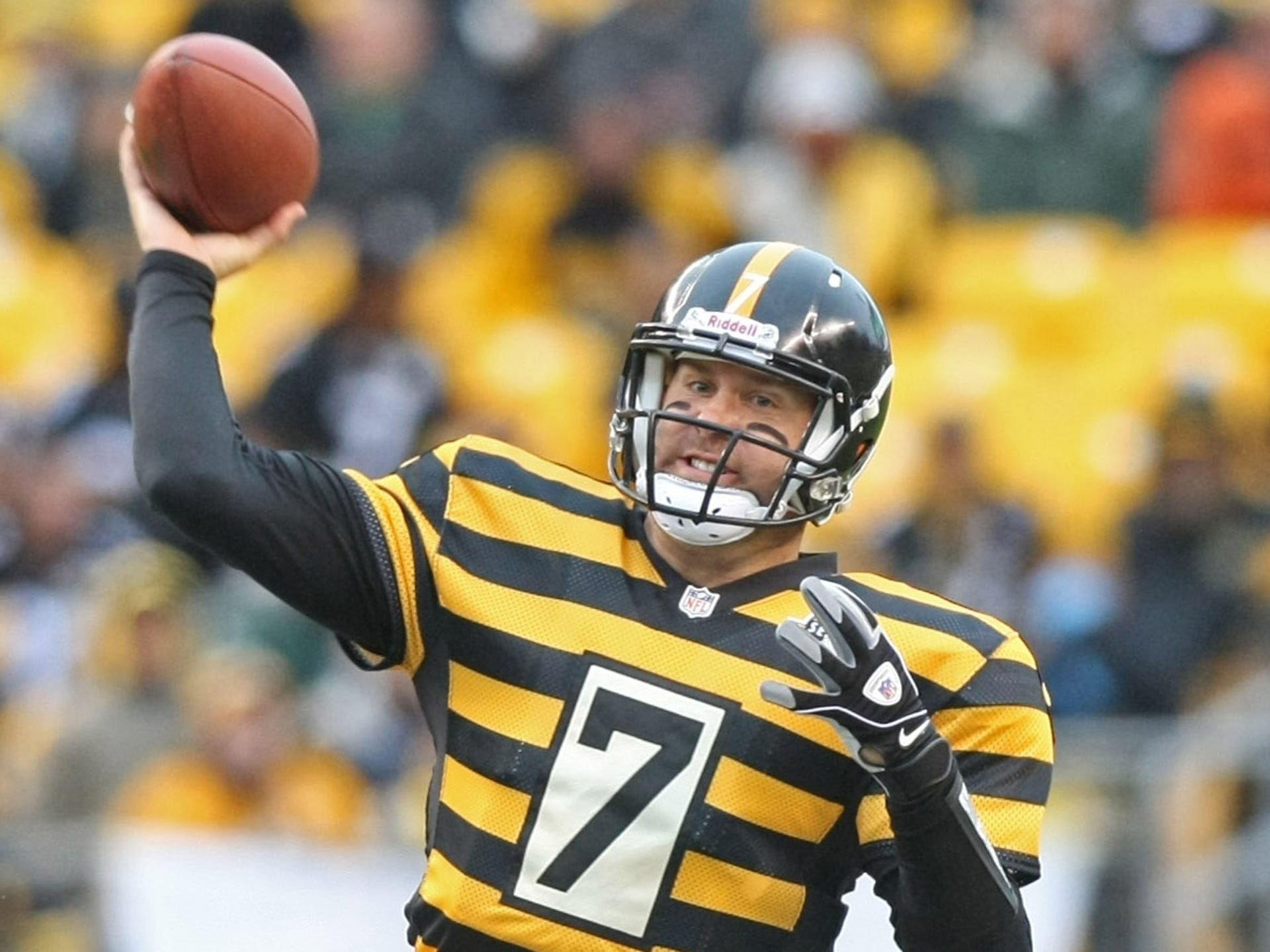 best service 18ed0 161ab Steelers' Throwback Uniforms