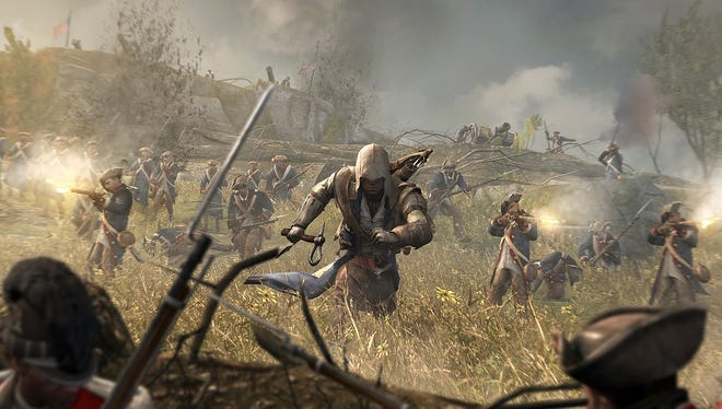 'Assassin?s Creed 3' is set during the American Revolution and stars the Native American-English protagonist Connor.