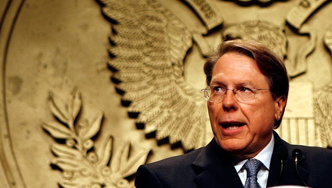 National Rifle Association Executive Vice President Wayne LaPierre in 2007.