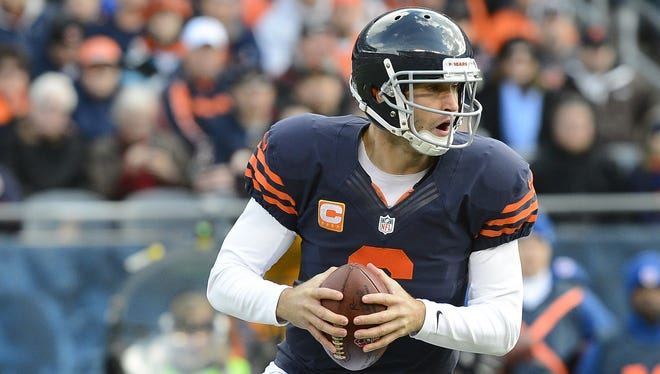 Jay Cutler rebounded after a difficult first half.