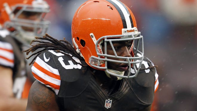 A week after rushing for 8 yards, Browns RB Trent Richardson punished the Chargers for 122.