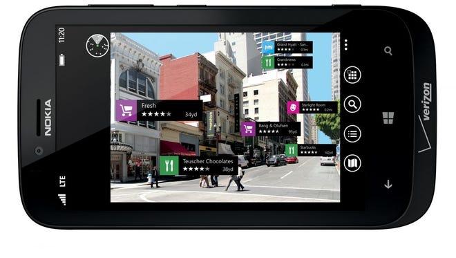 Nokia's new Lumia 822 Windows Phone 8 smartphone.