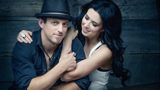 Keifer and Shawna Thompson are married to harmonies and classic guitars, and each other.