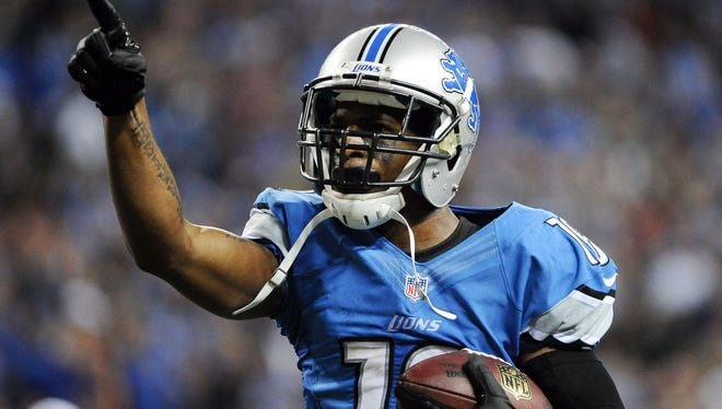 Lions wide receiver Titus Young caught all nine passes thrown to him for 100 yards and two touchdowns in Week 8 against the Seahawks.