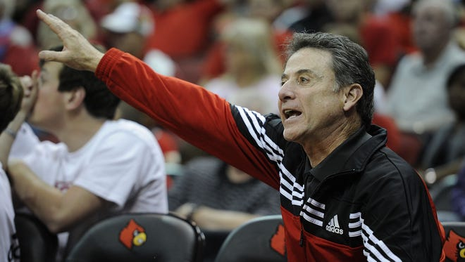 Rick Pitino isn't pleased with conference realignment or the latest news in the Big East.