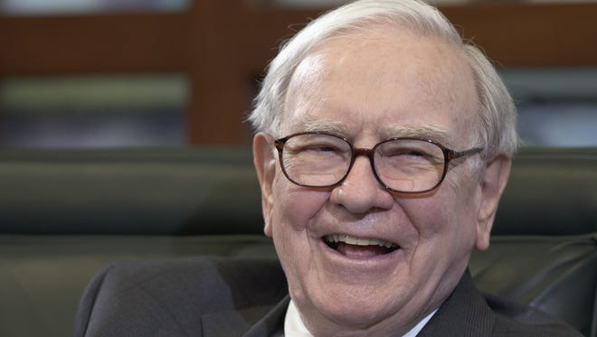 Warren Buffett, chairman and CEO of Berkshire Hathaway, in May 2012.