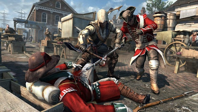 A scene from 'Assassin's Creed III.'