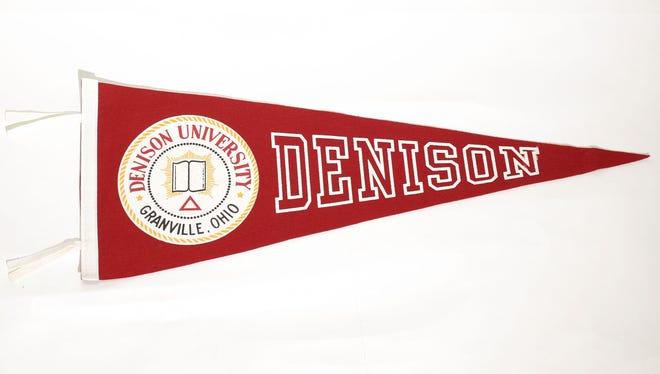 A pennant for Denison University