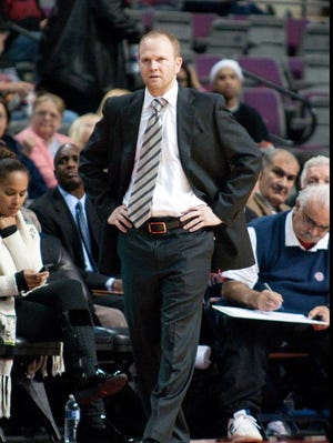 Pistons coach Lawrence Frank remained in Detroit while his family in New Jersey lost power from Hurricane Sandy.