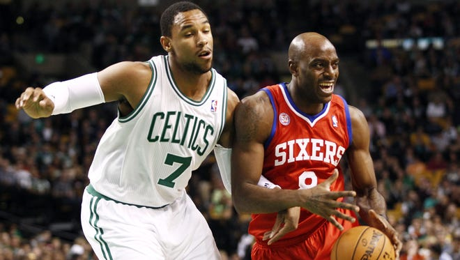 Rookie Boston Celtics forward Jared Sulllinger, left, could start the season opener Tuesday at the Miami Heat.