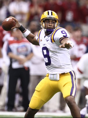 Quarterback Jordan Jefferson helped lead LSU to the BCS title game against Alabama in January.