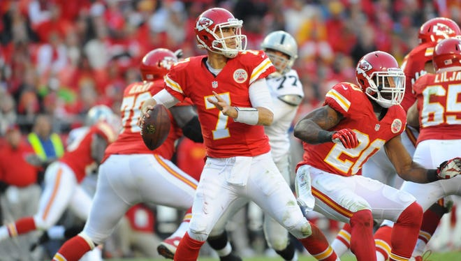 Chiefs quarterback Matt Cassel (7), who stepped in last week for the injured Brady Quinn, will start Thursday against the Chargers.