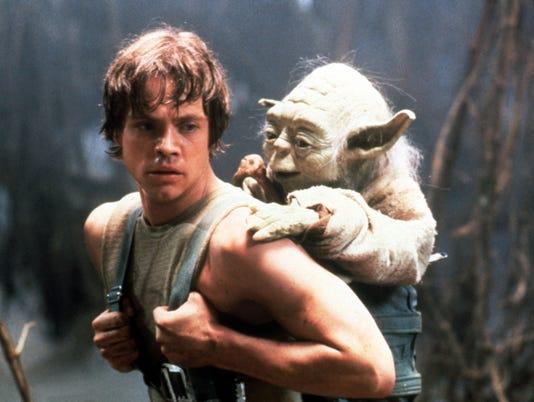 star wars empire strikes back luke yoda