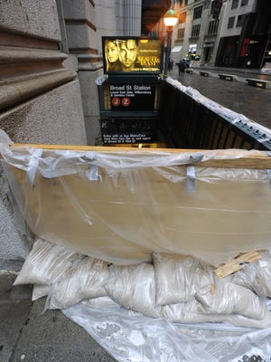 Hurricane Sandy put the New York subway system out of commission.