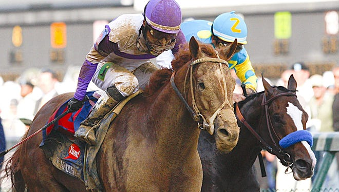 I'll Have Another, left, and Bodemeister, who finished 1-2 in the 2012 Kentucky Derby, were helped to qualify for the Derby because of the new scoring system.