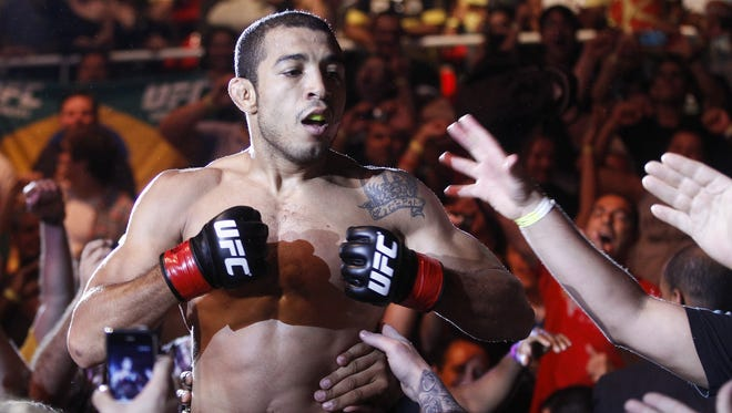 Jose Aldo will defend his title against Frankie Edgar in February at UFC 156.