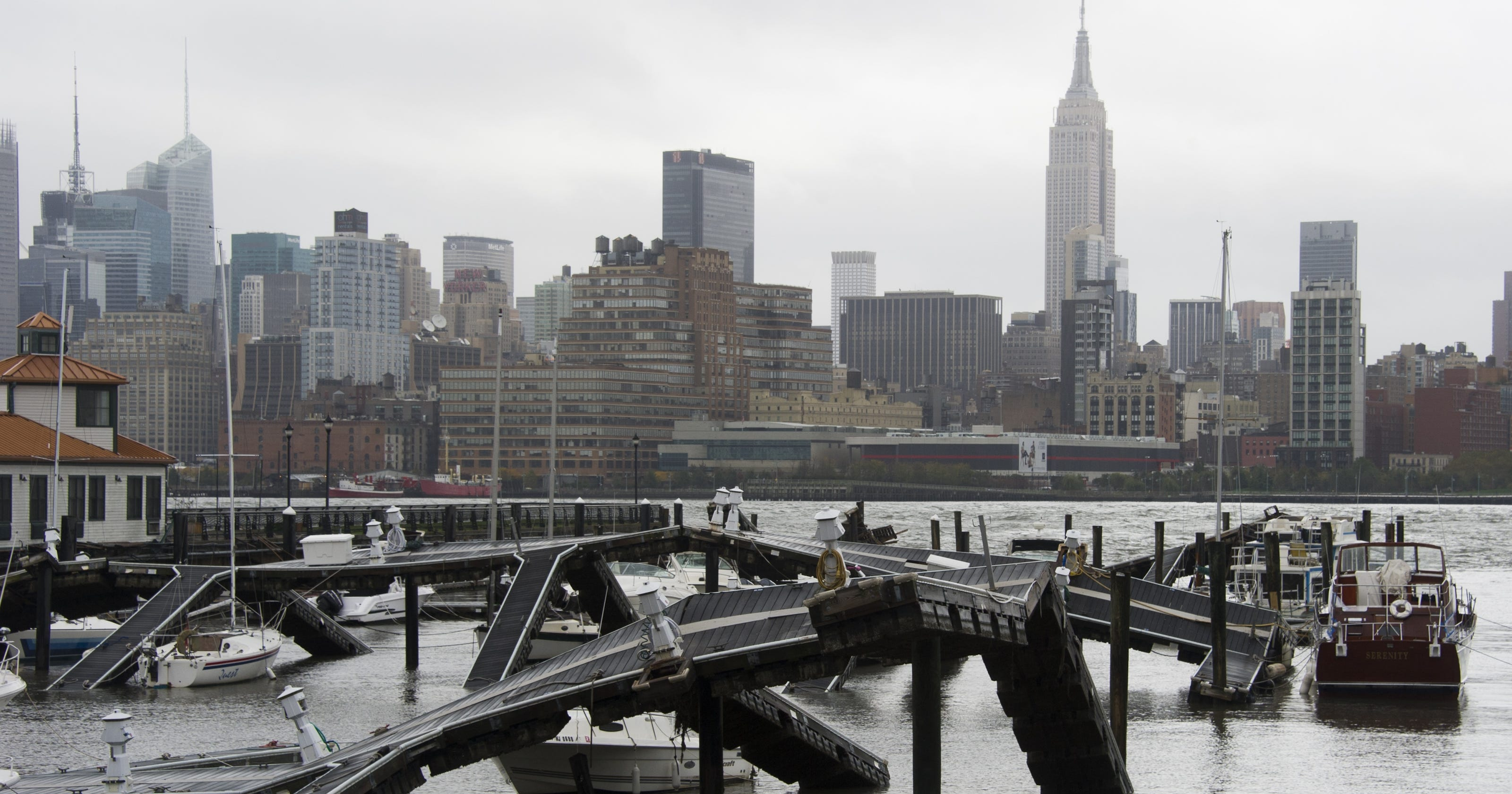 Sandy responsible for at least 50 U S  deaths so far