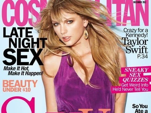 December Taylor Swift on Taylor Swift Poses For The December Issue Of  Cosmo   Out Tuesday
