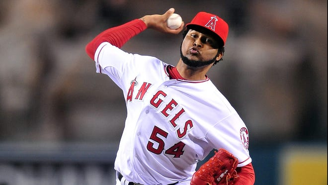 Ervin Santana has been a fixture in Los Angeles' rotation since 2005, going 96-80 with a 4.33 ERA.