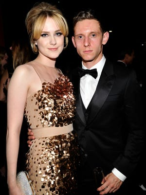 Actors  Evan Rachel Wood and Jamie Bell looked close on Oct. 27 at the LACMA 2012 Art + Film Gala.