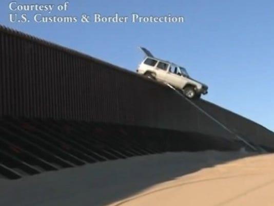 Jeep at Border