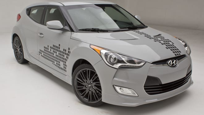 Hyundai is going to sell a RE:MIX version of its Veloster sporty car
