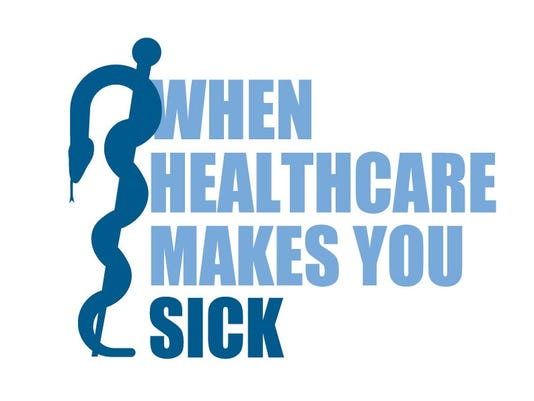 healthcare makes you sick logo