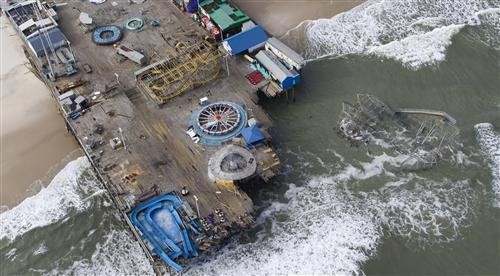 Seaside Heights' residents face Sandy's reality