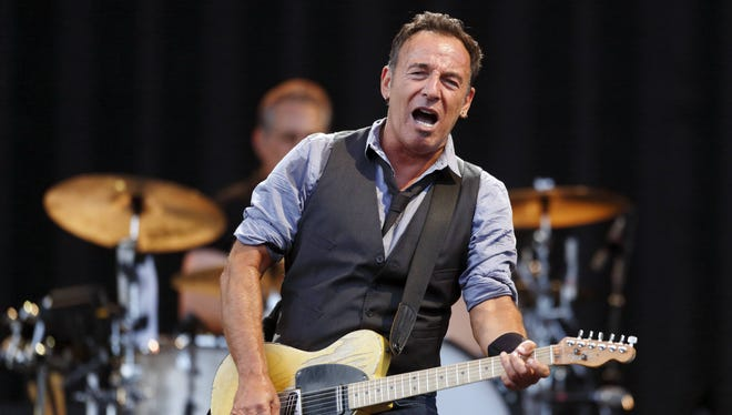 Bruce Springsteen, shown performing at Fenway Park in Boston in August, is from New Jersey.