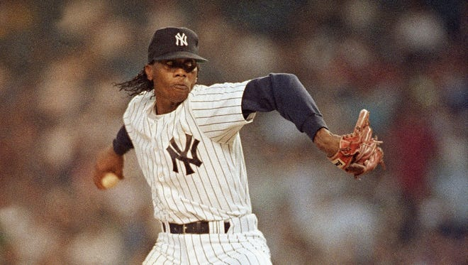 Pascual Perez pitched the 1990-91 season with the New York Yankees. Police say Perez was murdered in his Dominican Republic home Thursday.
