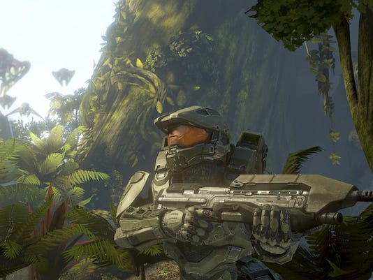 A new glow, and a Chief with depth, highlight 'Halo 4'