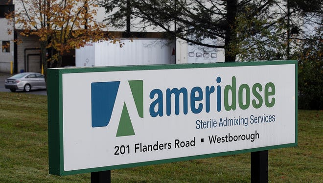 Ameridose Sterile Admixing Services, a pharmacy connected to the New England Compounding Center, agreed to be shut down for inspection.