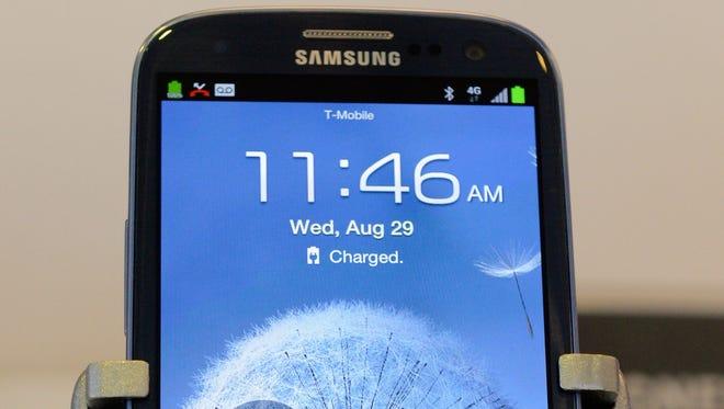 Samsung's Galaxy S III Android phone.
