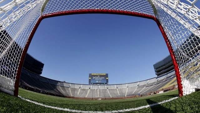 The Winter Classic would have held on Jan. 1 at Michigan Stadium.