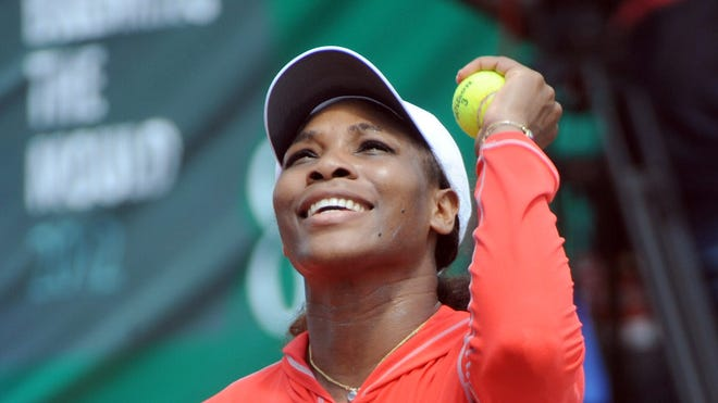 Serena Williams says it's just a matter of time until she returns to No. 1.